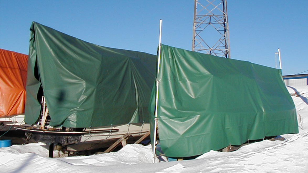 O.B.Wiik » Laying up boats for winter storage and cradles
