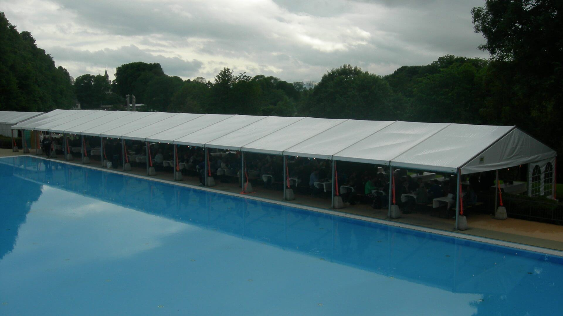 O B Wiik » Event tent - Marquee