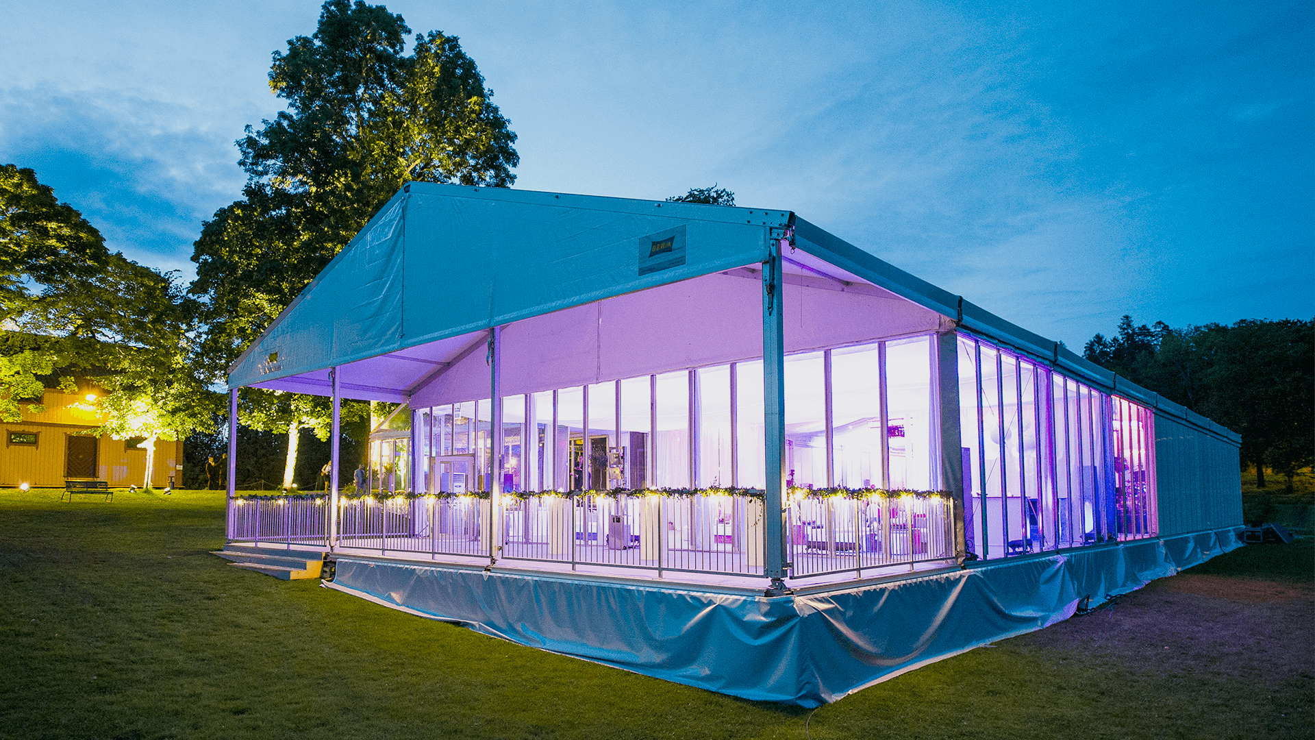 O.B.Wiik » Event tent Marquee