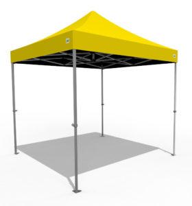 obwiik wiikhall treadesperson tent yellow
